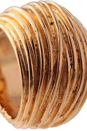 AURÉLIE BIDERMANN Gold-plated ring