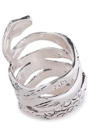 AURÉLIE BIDERMANN Mamba silver ring