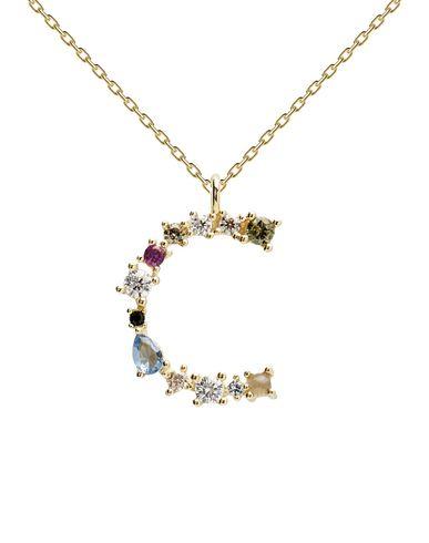 Фото - Ожерелье от P D PAOLA золотистого цвета