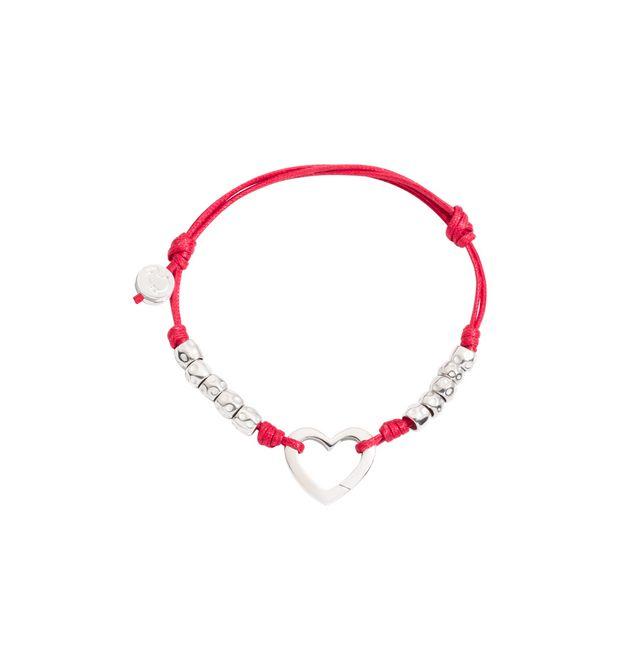 DODO Armband E Armband mit Herz und mit Marienkäfer f