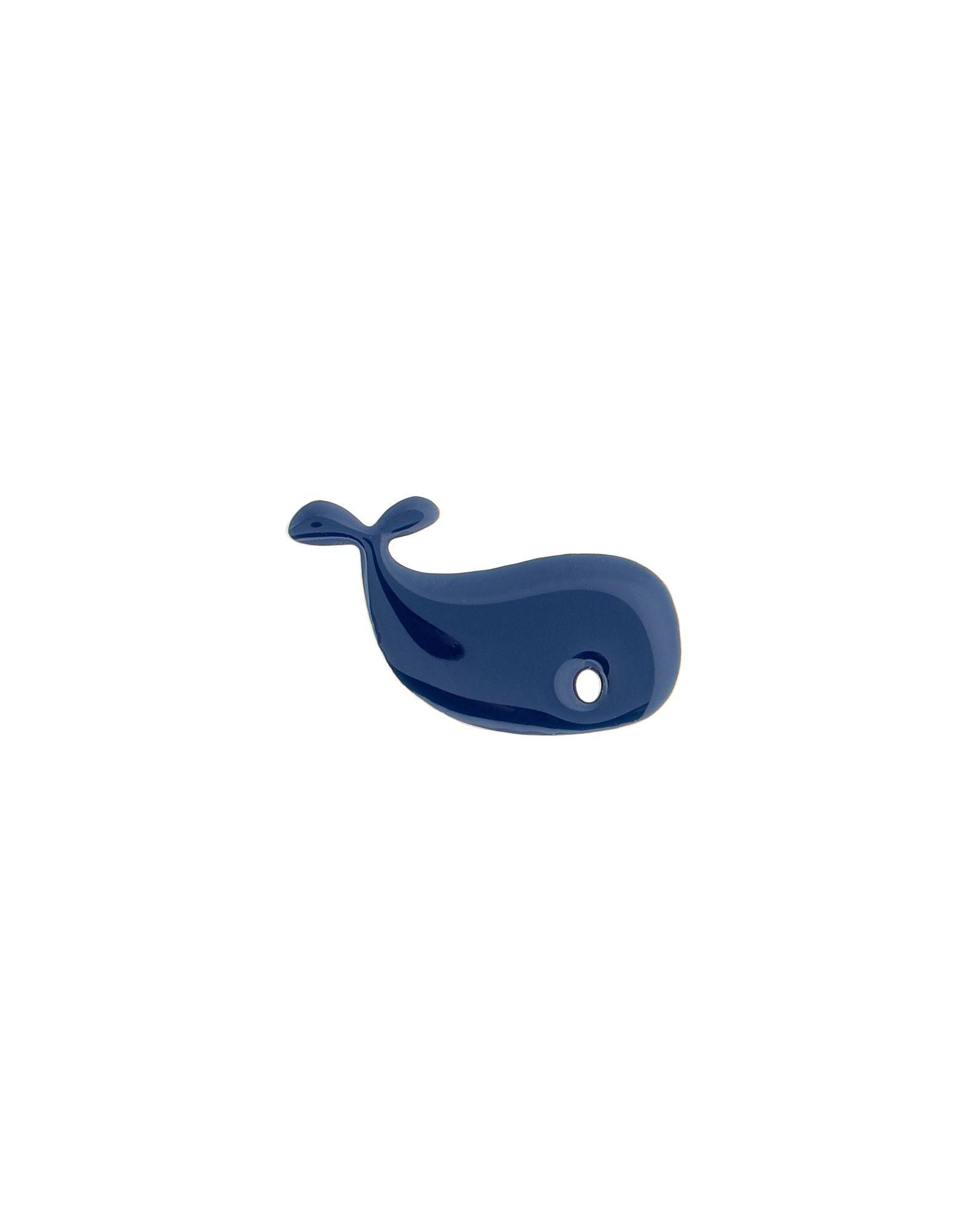 《セール開催中》TITLEE レディース ブローチ ダークブルー 真鍮/ブラス / エナメル