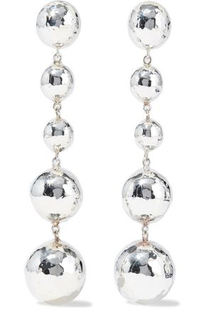 IPPOLITA Classico hammered sterling silver earrings