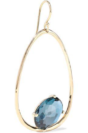 IPPOLITA Rock Candy 18-karat gold topaz earrings