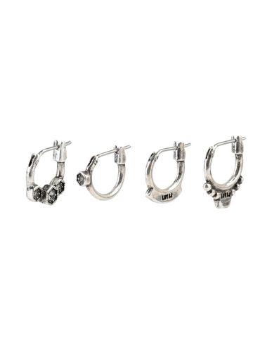Фото - Женские серьги, клипсы или пирсинг  серебристого цвета