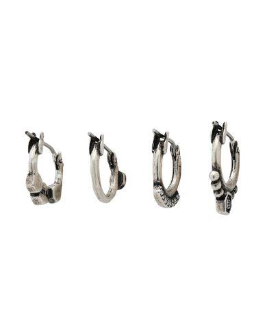 Фото 2 - Женские серьги, клипсы или пирсинг  серебристого цвета