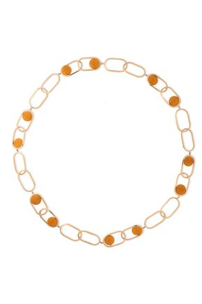 ROSANTICA Scoperta gold-tone stone necklace