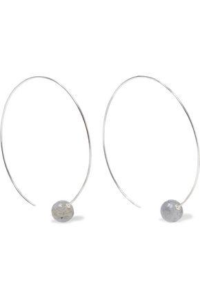 CHAN LUU Sterling silver labradorite earrings