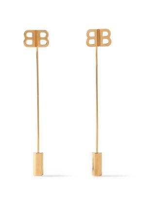BALENCIAGA Gold-tone earrings