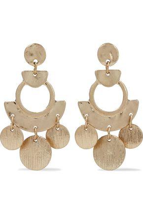 SHASHI Zuma gold-plated earrings