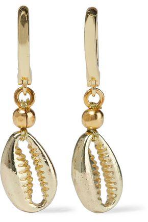 SHASHI Baltic 18-karat gold-plated earrings