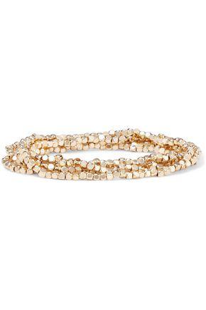 SHASHI Empress 18-karat gold-plated bracelet