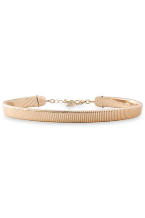 KENNETH JAY LANE Gold-plate choker