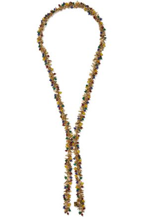 ROSANTICA Corvara gold-tone quartz necklace