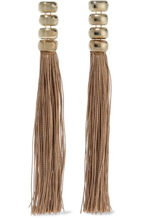ROSANTICA Livigno gold-tone cord earrings