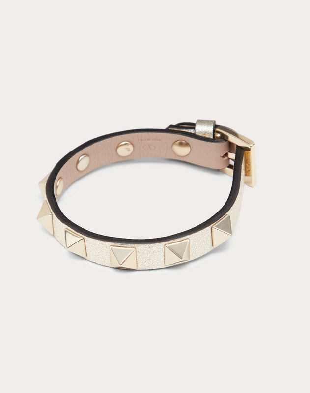 Bracelet Rockstud en cuir