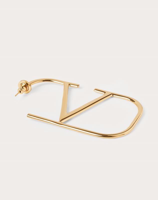 VLOGO metal earrings