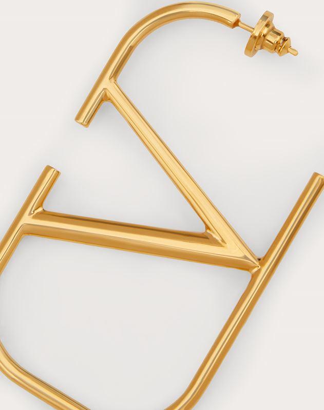 Boucles d'oreilles VLOGO en métal