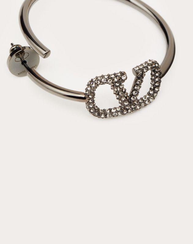 VLOGO metal earrings