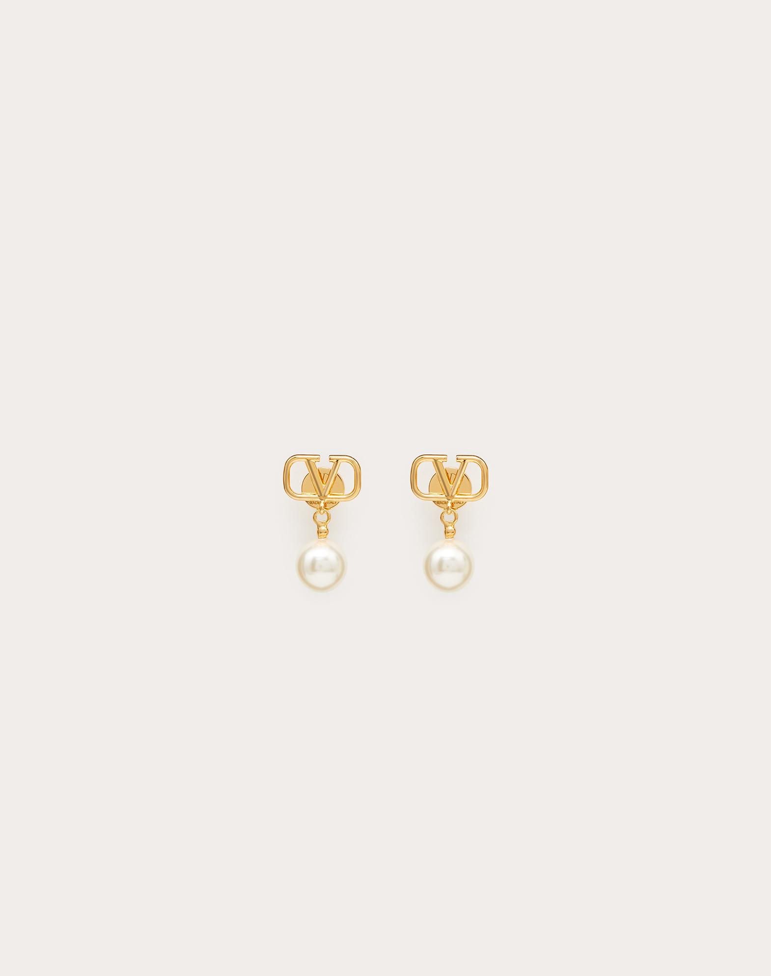 Ohrringe VLOGO mit Perlen