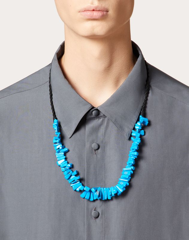 Collier en pierre dure
