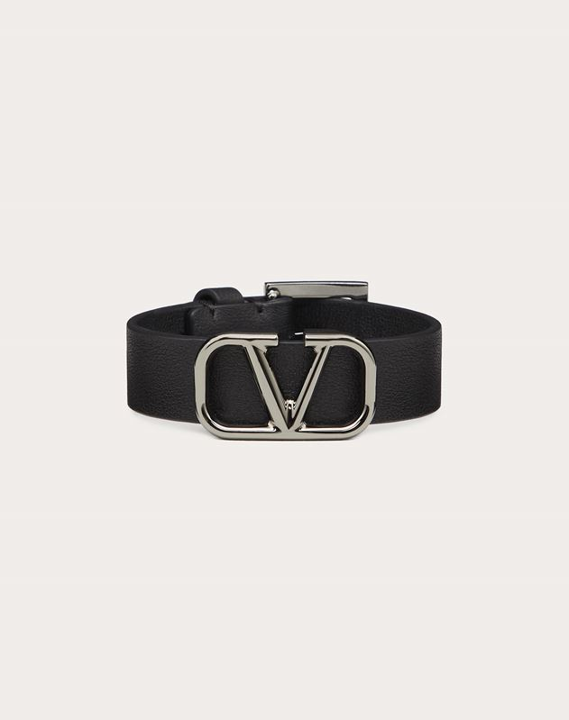 VLOGO leather bracelet