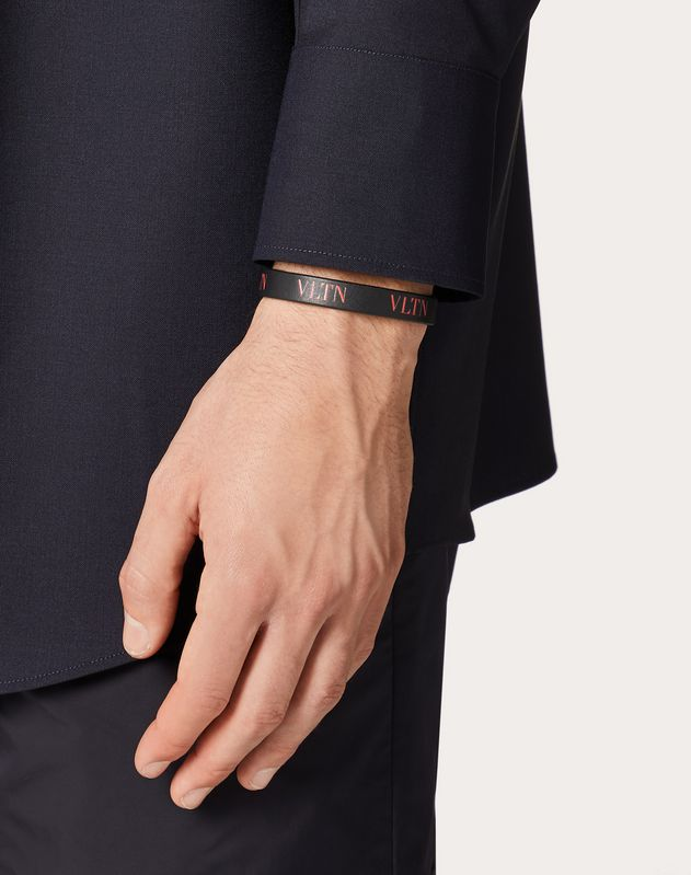 VLTN leather bracelet