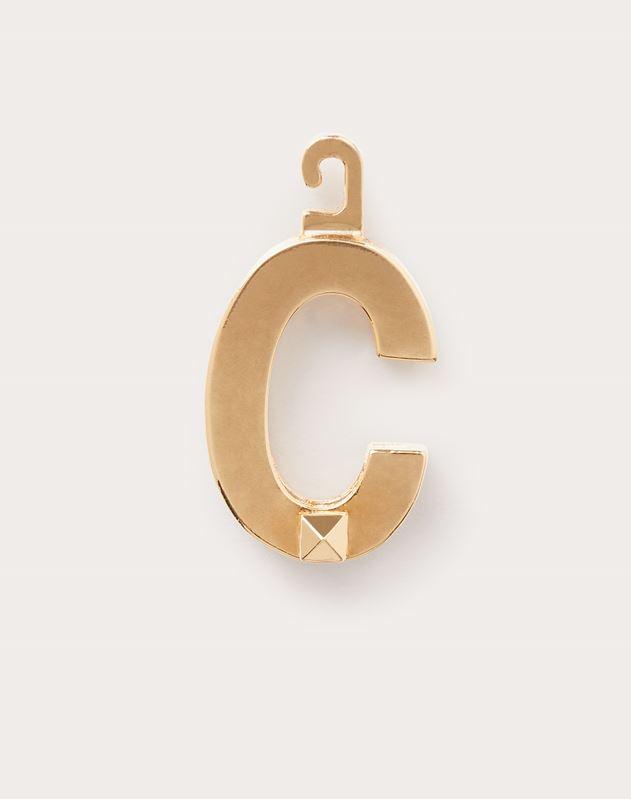 "Call Me Valentino ""C"" Charm"