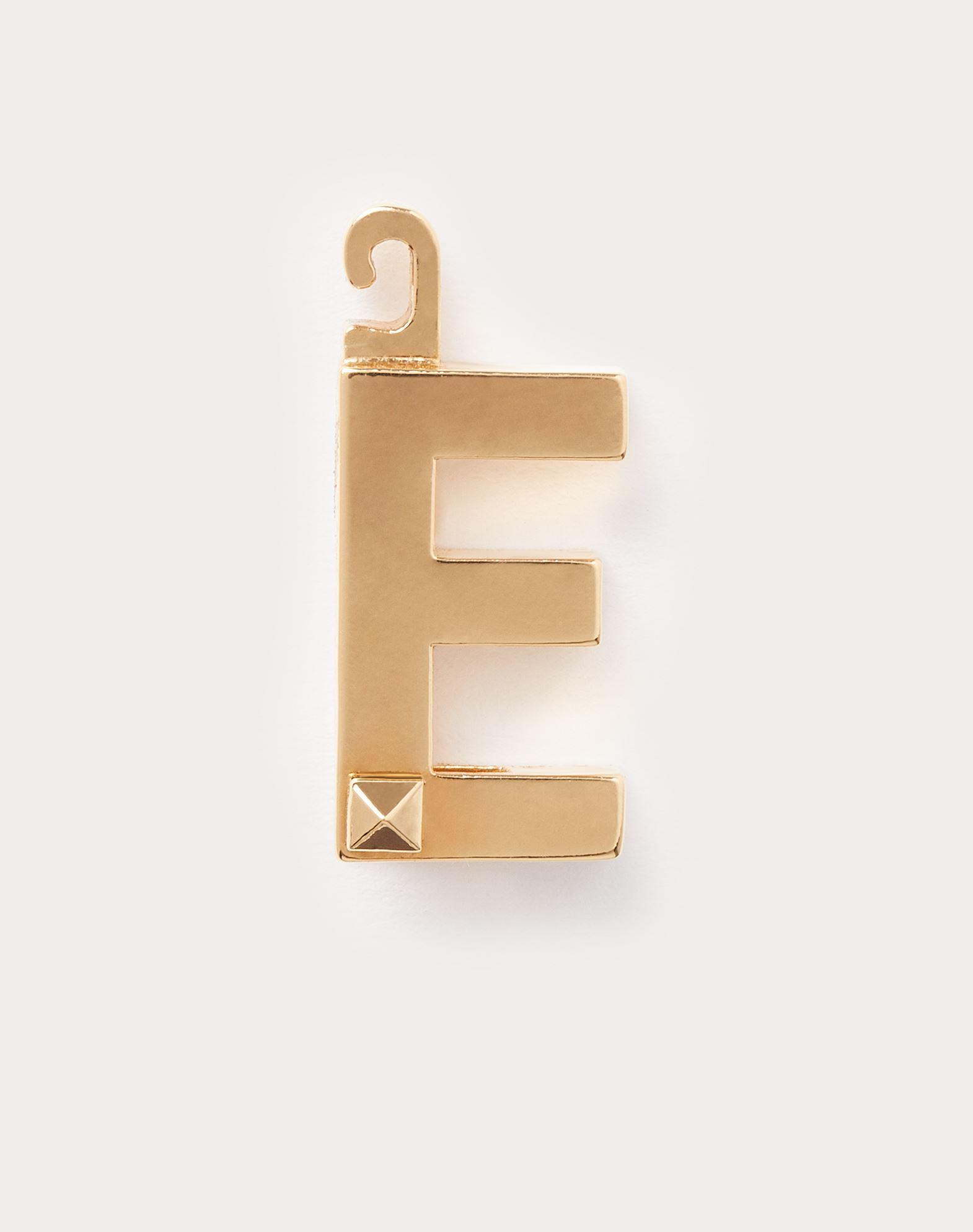 """Call Me Valentino チャーム """"E"""""""