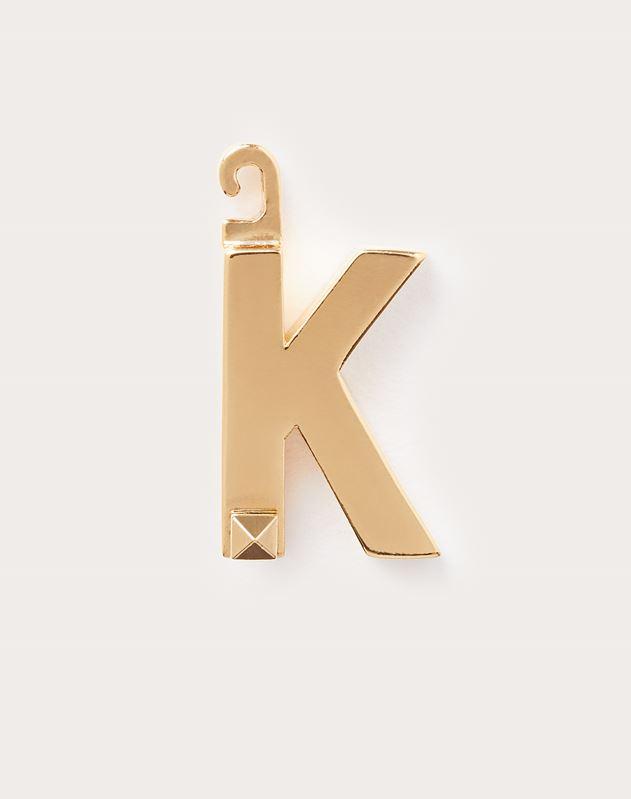 "Call Me Valentino チャーム ""K"""
