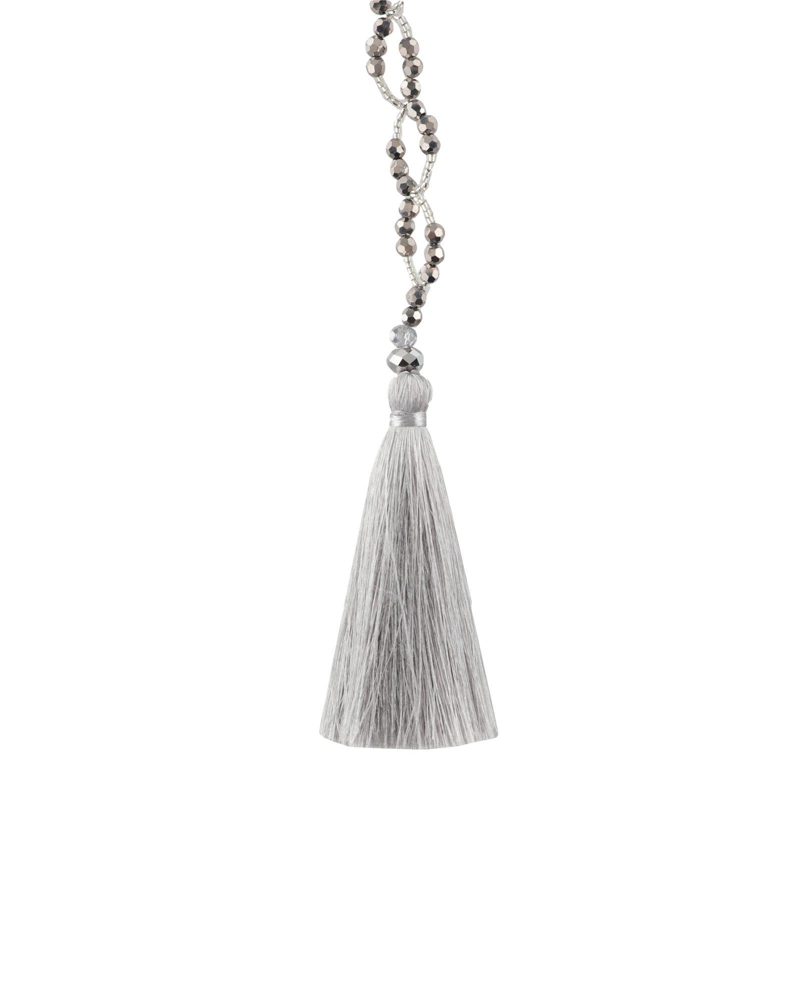 《セール開催中》NIGHTMARKET. IT レディース ネックレス 鉛色 石 / 紡績繊維