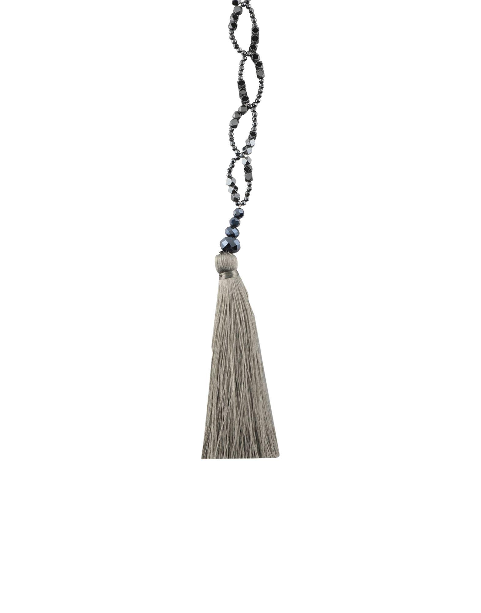 《セール開催中》NIGHTMARKET. IT レディース ネックレス スチールグレー 石 / 紡績繊維