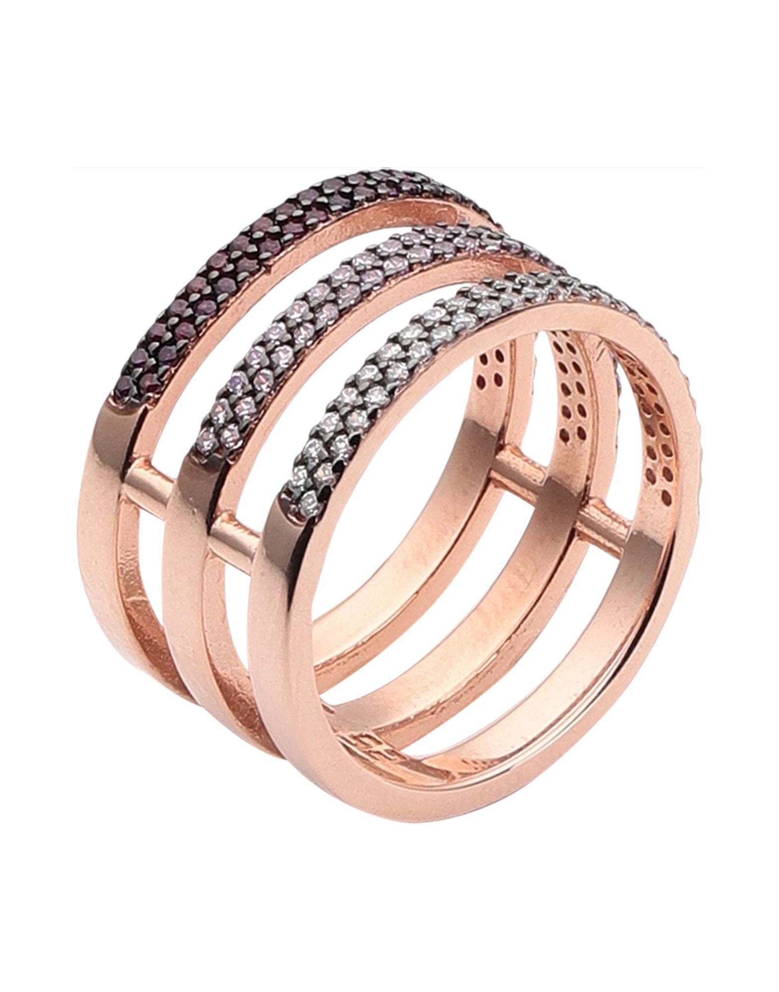 《セール開催中》KURSHUNI レディース 指輪 カッパー 52 シルバー925/1000 / キュービックジルコニア