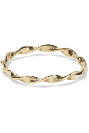 IRIS & INK Svana 18-karat gold-plated ring