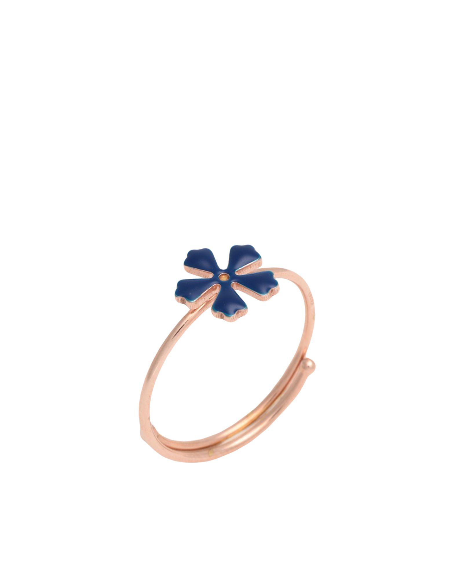 《セール開催中》MAMAN ET SOPHIE レディース 指輪 ブルー one size シルバー925/1000