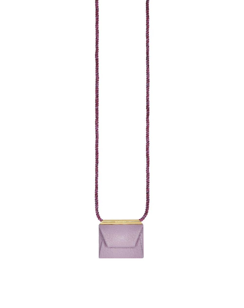 LILAC ENVELOPE NECKLACE - Lanvin