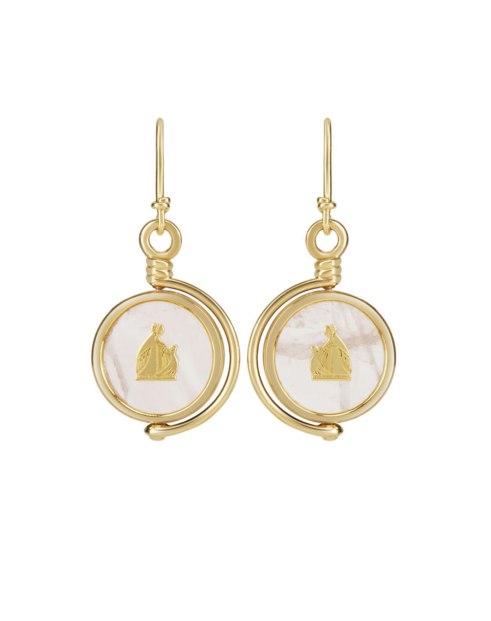 MOTHER AND CHILD EARRINGS  - Lanvin