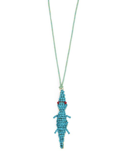 CROCODILE NECKLACE - Lanvin