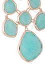 MONICA VINADER Siren 18-karat rose gold vermeil amazonite earrings