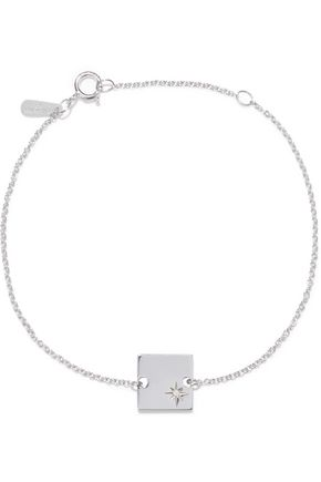 ADINA REYTER Sterling silver diamond bracelet