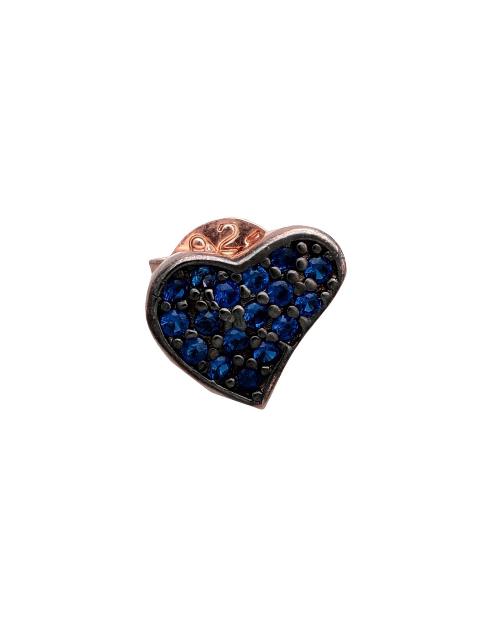 《セール開催中》TALITA London レディース ピアス&イヤリング ブルー シルバー925/1000 Heart Wave
