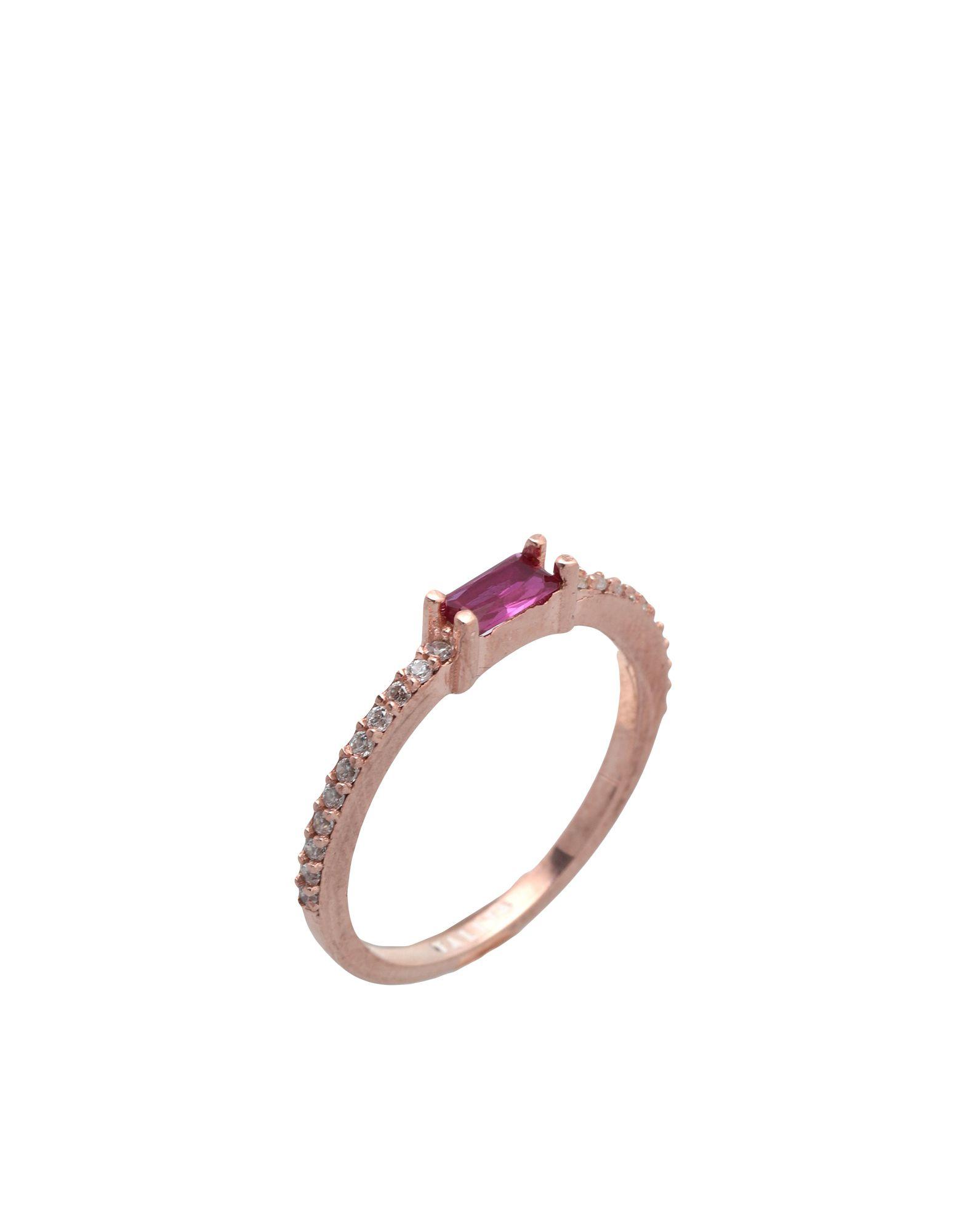 《セール開催中》TALITA London レディース 指輪 プラチナ 8 シルバー925/1000 Bit