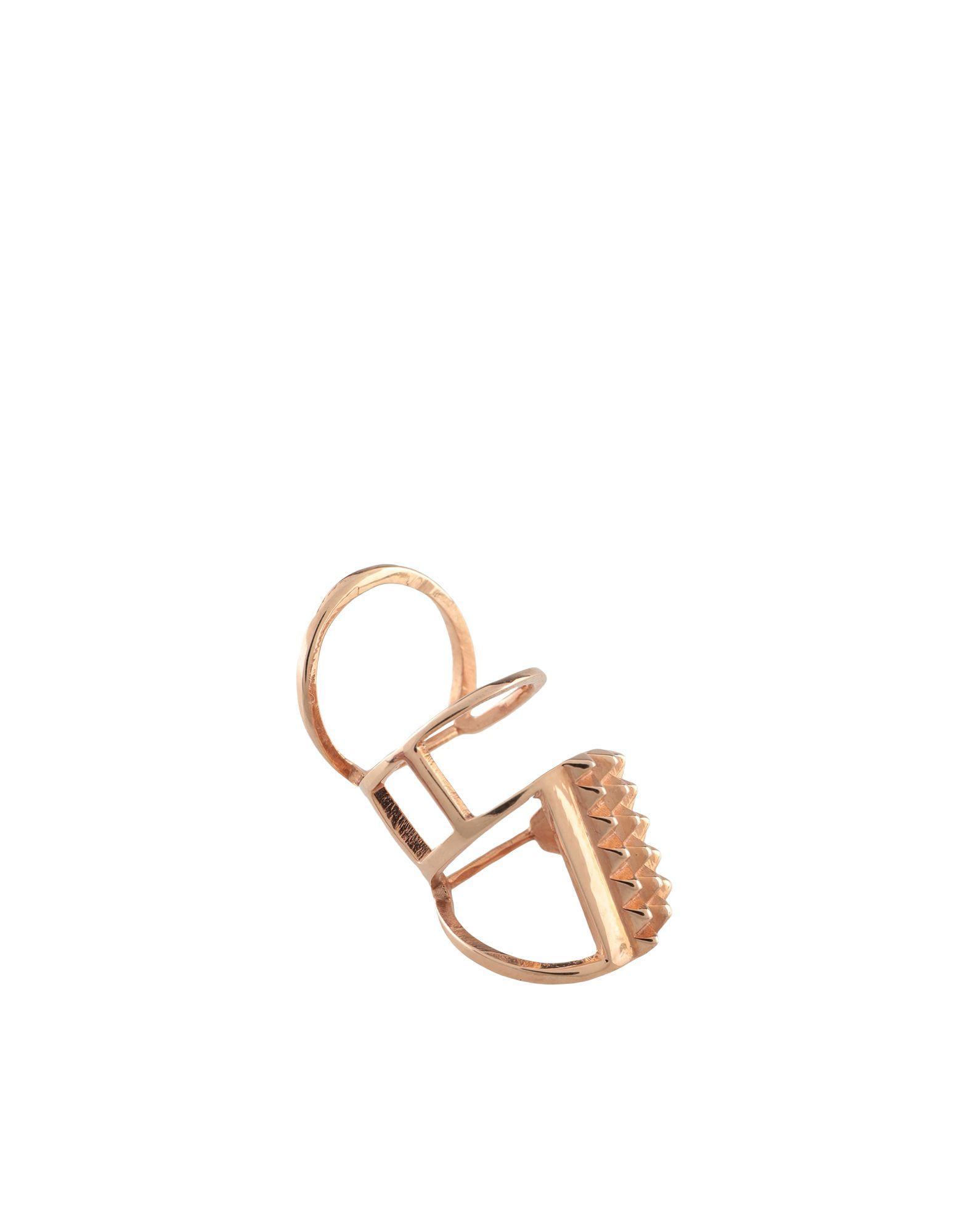 《セール開催中》AAMAYA by PRIYANKA レディース 指輪 カッパー one size シルバー925/1000