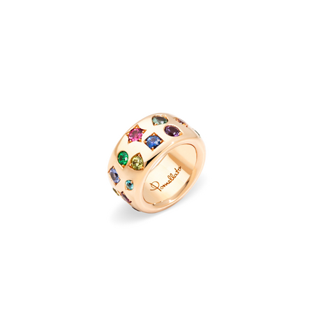 POMELLATO Bague Iconica Color Maxi A.B901 E f