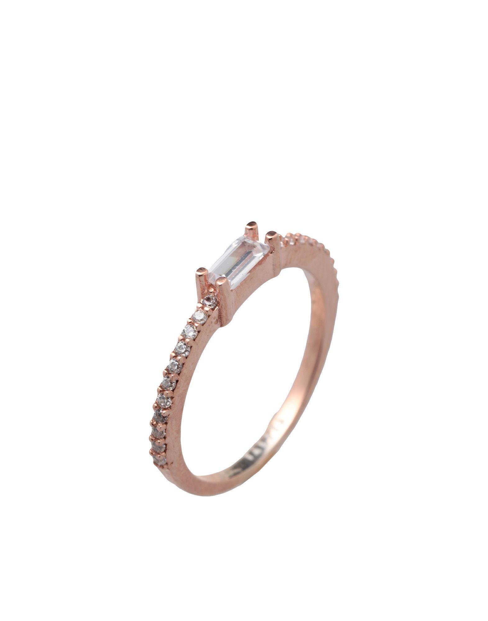 《セール開催中》TALITA London レディース 指輪 ピンク 6 シルバー925/1000 Bit