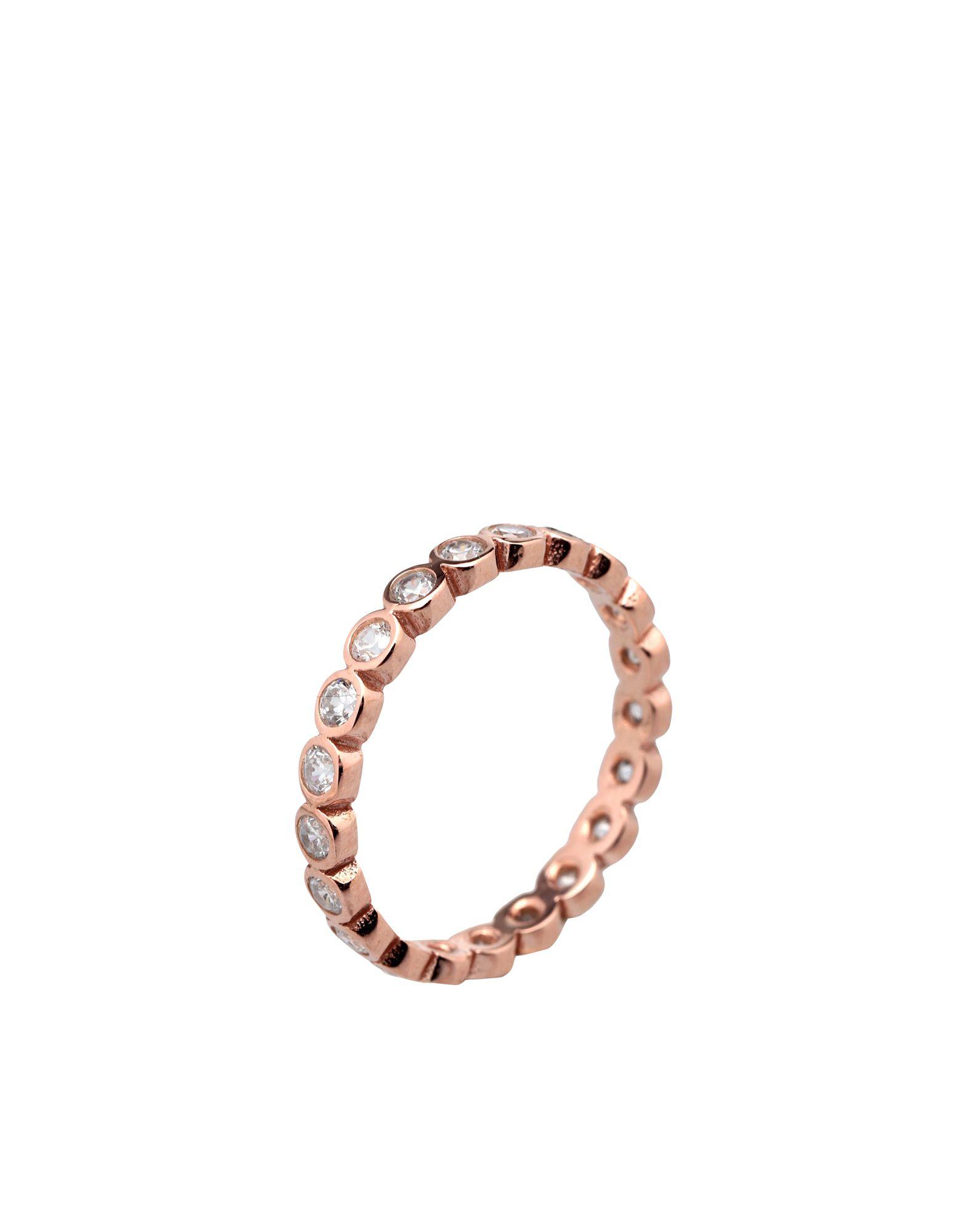 《セール開催中》TALITA London レディース 指輪 ホワイト 6 シルバー925/1000 08:08