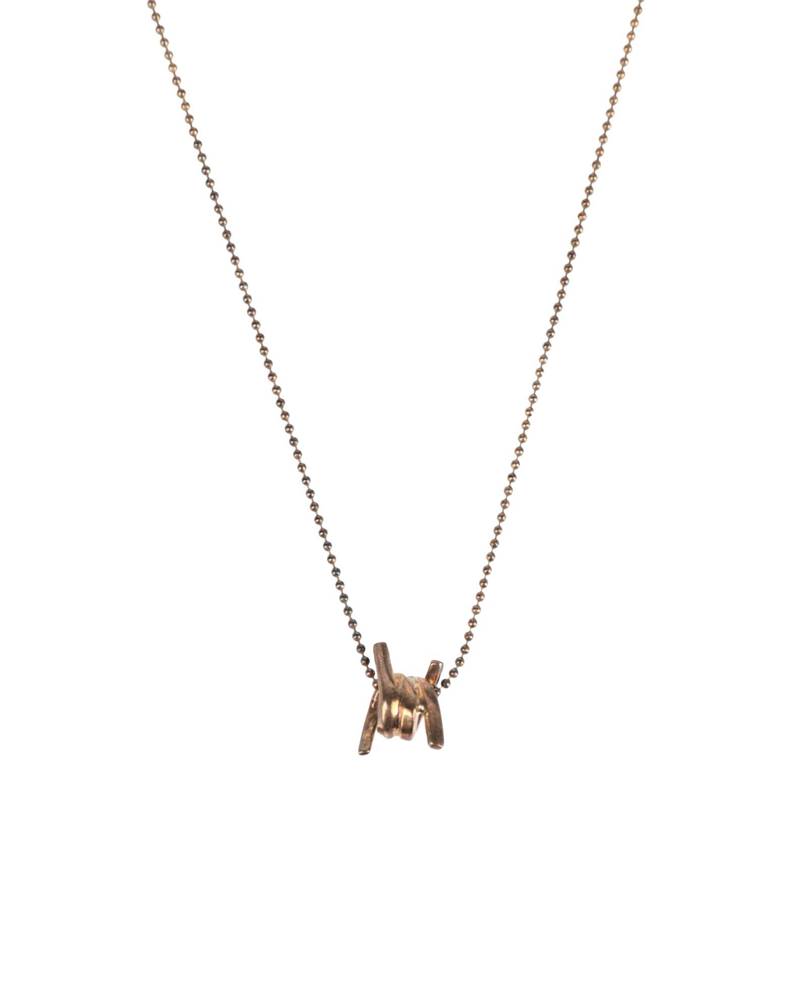 《セール開催中》DSQUARED2 レディース ネックレス ゴールド 真鍮/ブラス 100%
