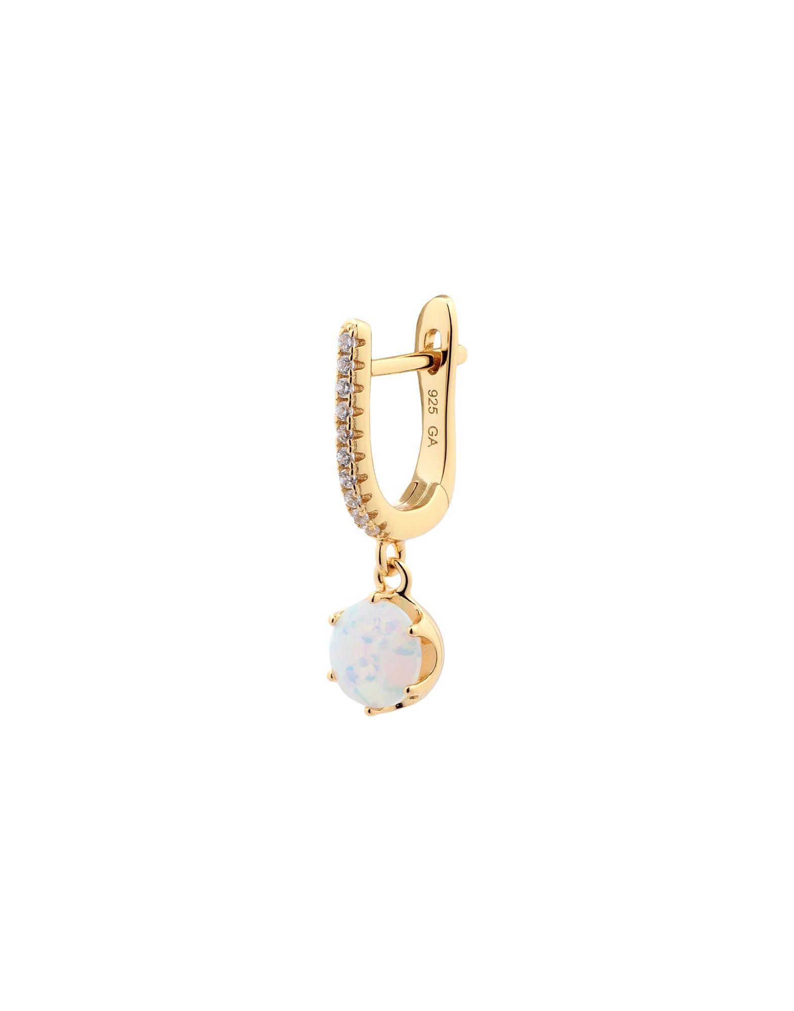 《セール開催中》GALLERIA ARMADORO レディース ピアス&イヤリング ゴールド 銀 HALO EARRING OPAL