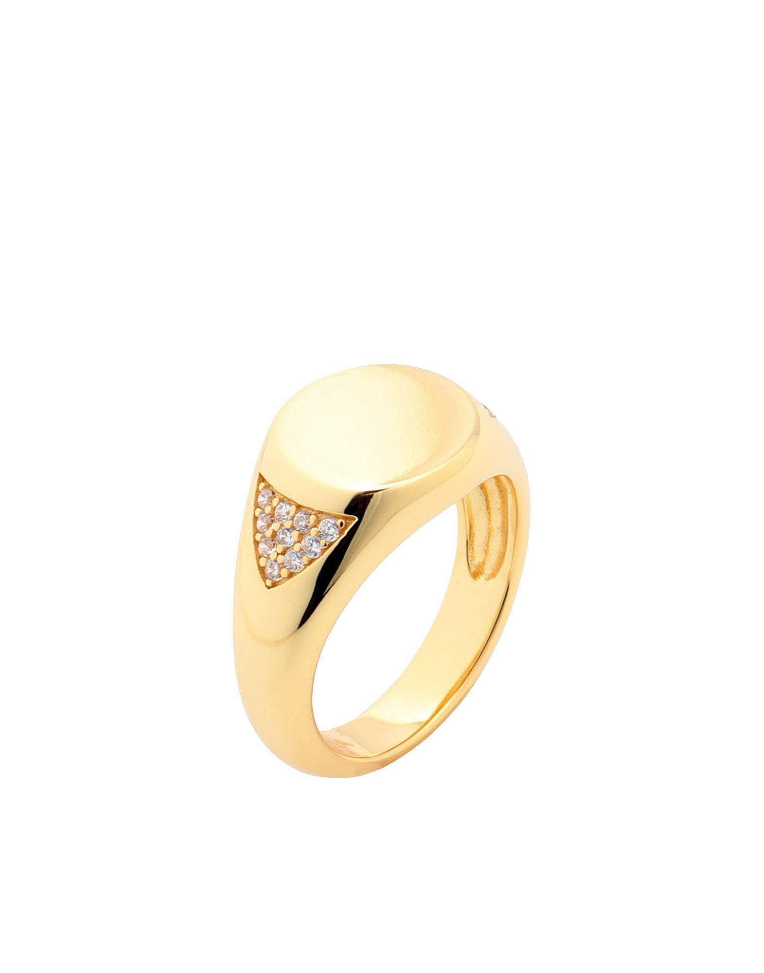 《セール開催中》GALLERIA ARMADORO レディース 指輪 ゴールド 46 シルバー925/1000 SIMPLE SINGLET RING