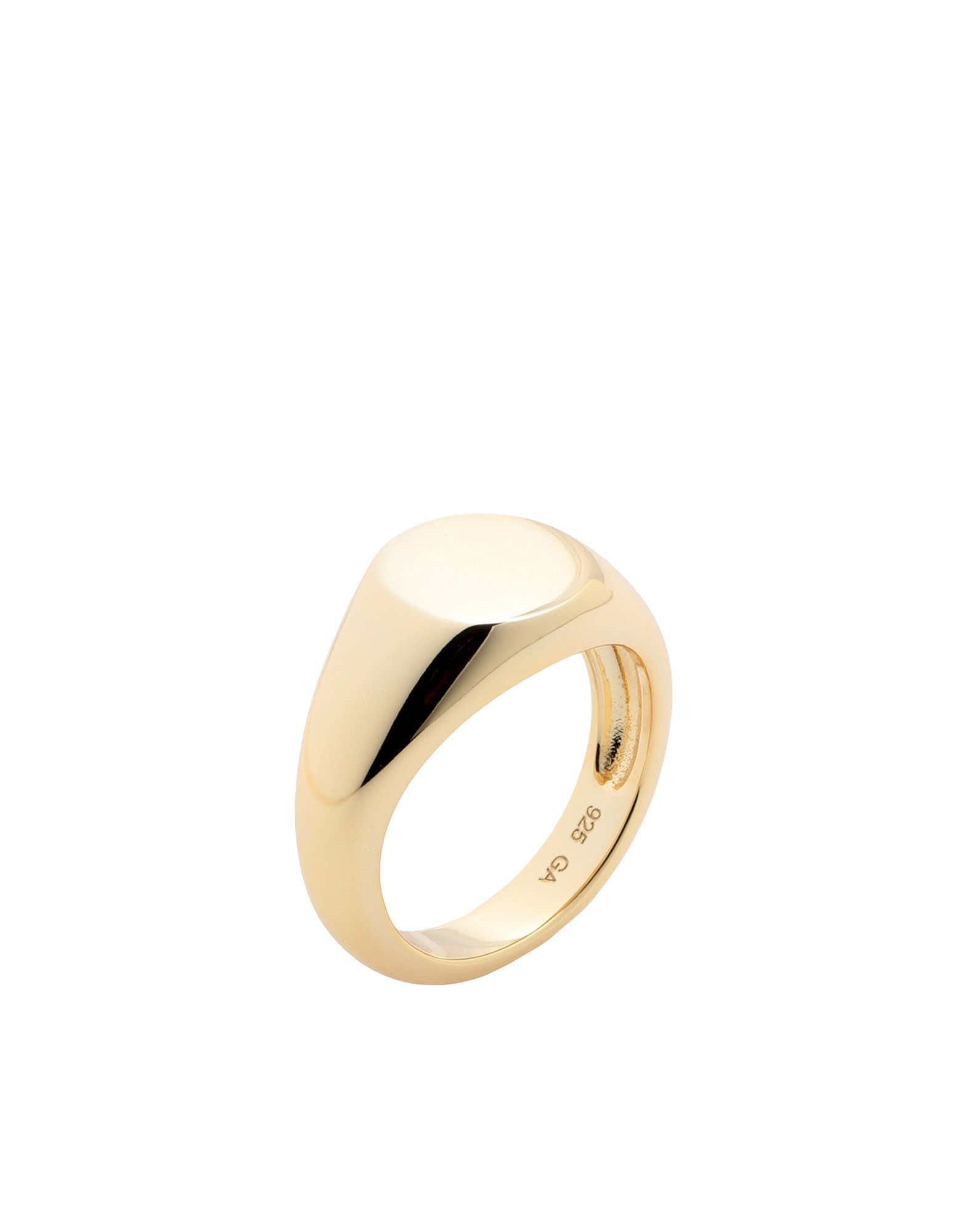 《セール開催中》GALLERIA ARMADORO レディース 指輪 ゴールド 46 銀 SIMPLE SIGNET RING