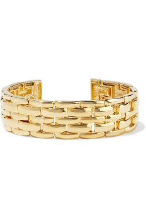 KENNETH JAY LANE Gold-plated cuff